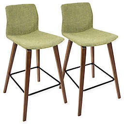 LumiSource Cabo Counter Bar Stools (Set of 2)