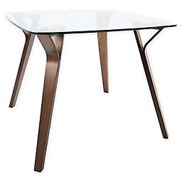 LumiSource® Folia Dining Table in Walnut