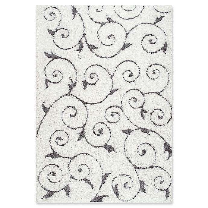 Alternate image 1 for nuLOOM Maisha 5-Foot 3-Inch x 7-Foot 6-Inch Shag Area Rug in Beige