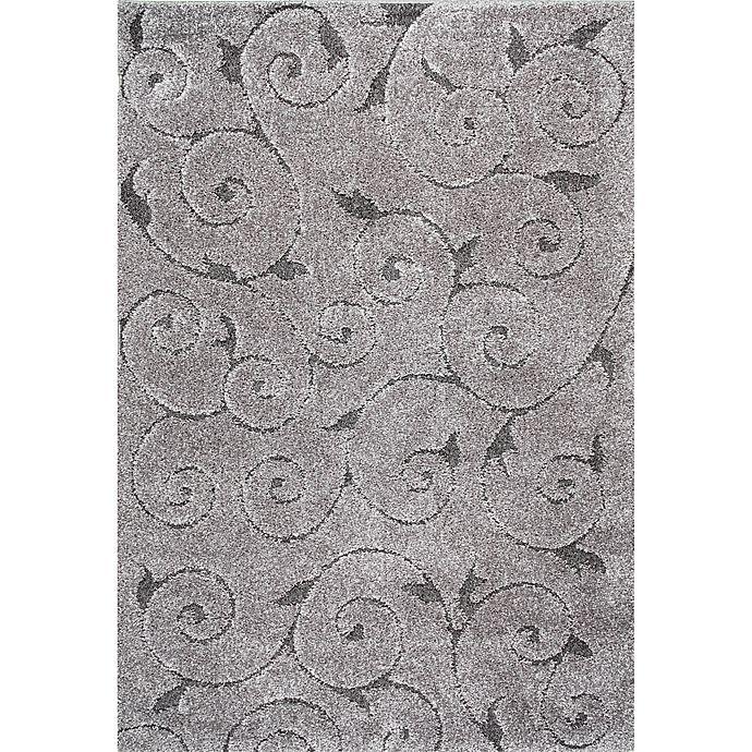 Alternate image 1 for nuLOOM Maisha 6-Foot 7-Inch x 9-Foot Shag Area Rug in Dark Grey