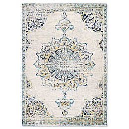 nuLOOM Sunny Wildflower Medallion Rug