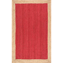 nuLOOM Eleonora 6-Foot x 9-Foot Area Rug in Red