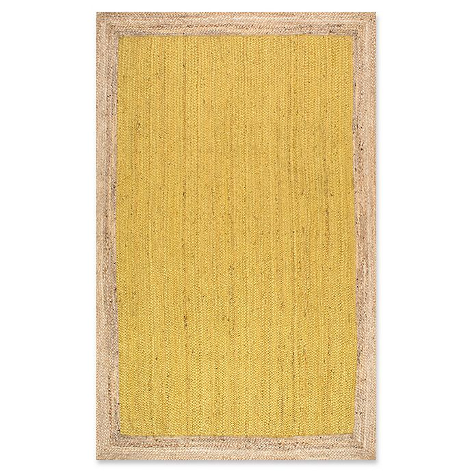 Alternate image 1 for nuLOOM Eleonora 8-Foot x 10-Foot Area Rug in Yellow