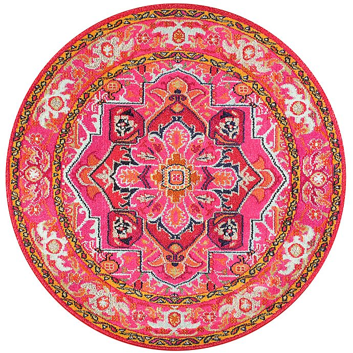 Alternate image 1 for nuLOOM Vintage Mackenzie 5-Foot 3-Inch x 7-Foot 7-Inch Area Rug in Pink