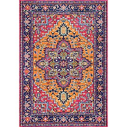 nuLOOM Fancy Persian Vonda Rug in Orange