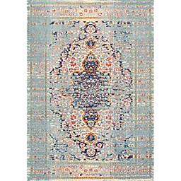 nuLOOM Distressed Persian Sarita 6-Foot 7-Inch x 9-Foot Area Rug in Grey