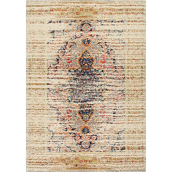 Alternate image 1 for nuLOOM Distressed Persian Sarita 7-Foot 10-Inch x 11-Foot Area Rug in Sand