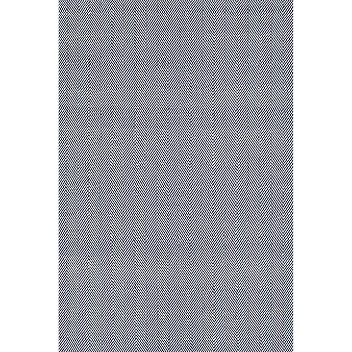 Alternate image 1 for nuLOOM Kimberely 6-Foot x 9-Foot Area Rug in Navy