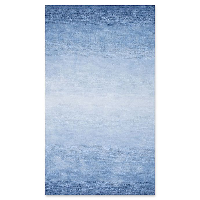 Alternate image 1 for Nuloom Ombre Bernetta 4-Foot x 6-Foot Area Rug in Blue
