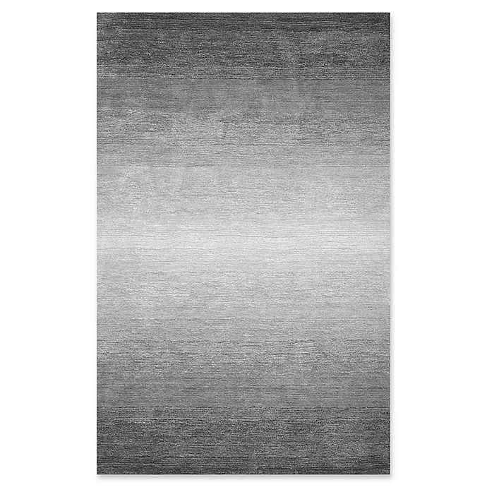 Alternate image 1 for Nuloom Ombre Bernetta 4-Foot x 6-Foot Area Rug in Grey