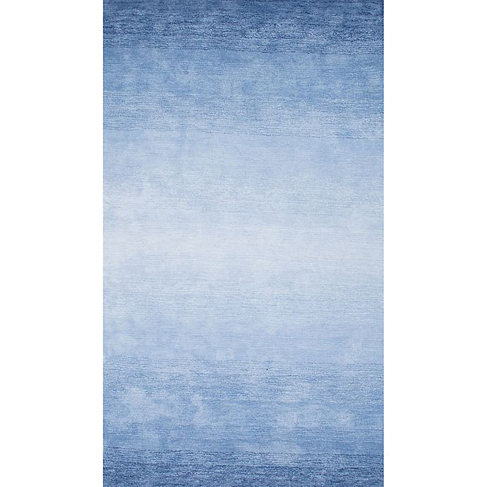Alternate image 1 for Nuloom Ombre Bernetta 7-Foot 6-Inch x 9-Foot 6-Inch Area Rug in Blue