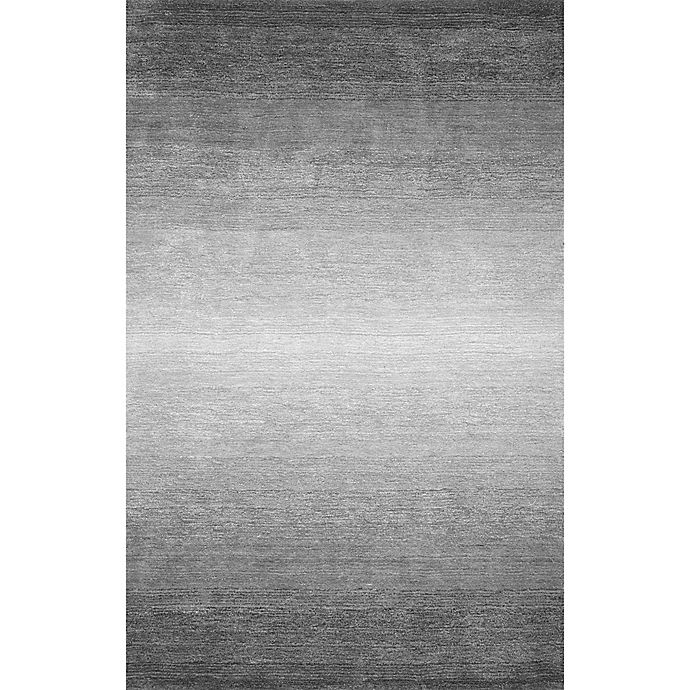 Alternate image 1 for Nuloom Ombre Bernetta 7-Foot 6-Inch x 9-Foot 6-Inch Area Rug in Grey