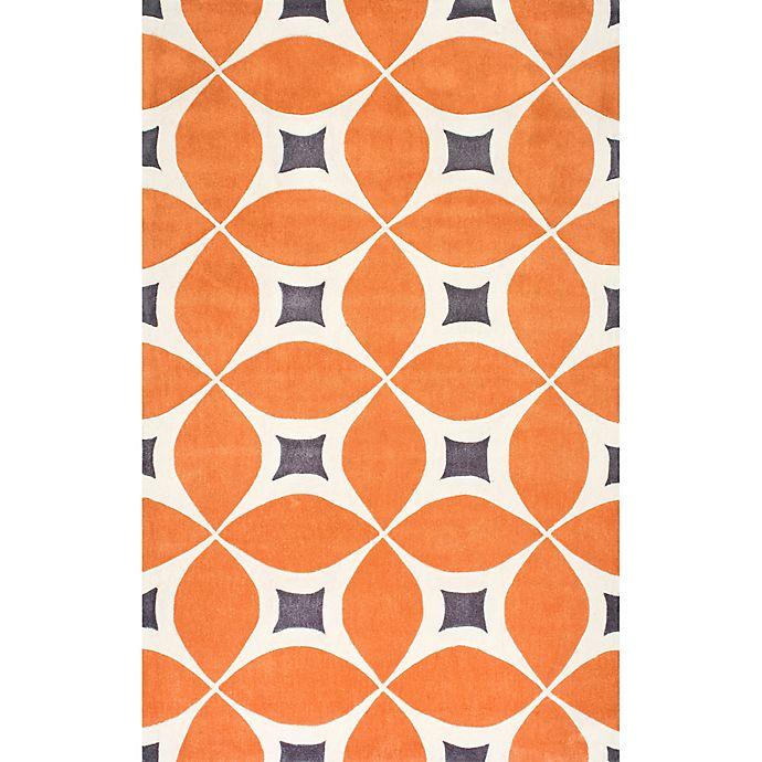 Alternate image 1 for nuLOOM Gabriela 2-Foot x 3-Foot Accent Rug in Orange