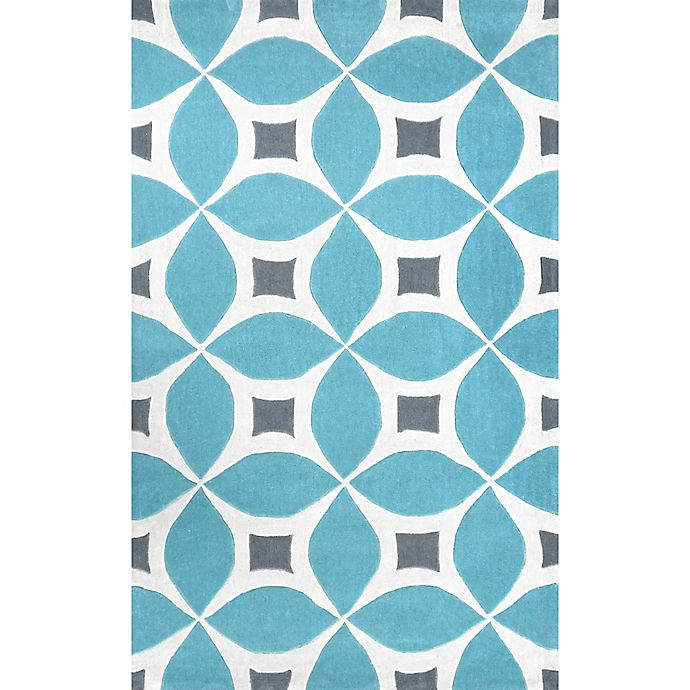 Alternate image 1 for nuLOOM Gabriela 4-Foot x 6-Foot Area Rug in Baby Blue