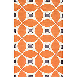 nuLOOM Gabriela 8-Foot 6-Inch x 11-Foot 6-Inch Area Rug in Orange