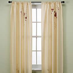 Alesandra 95-Inch Tailored Window Curtain Panel in Ivory