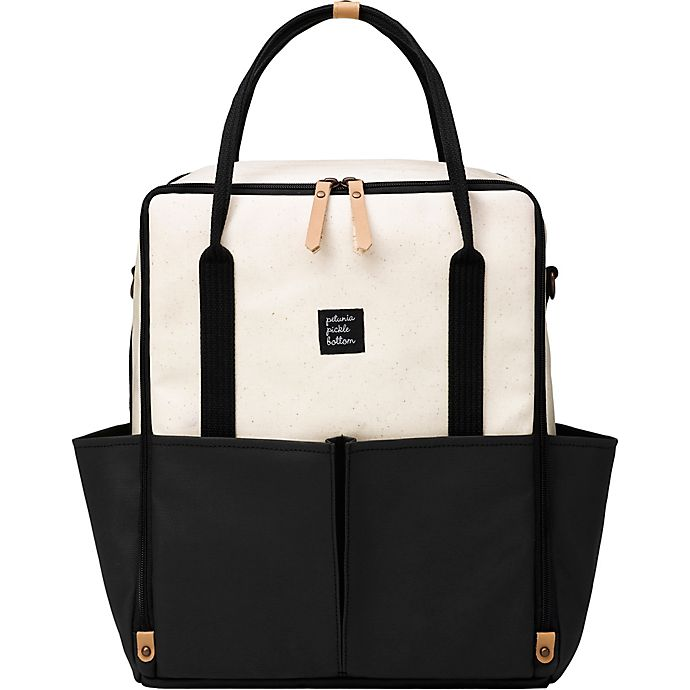 Alternate image 1 for Petunia Pickle Bottom® Inter-Mix Backpack in Birch/Black