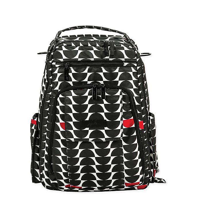 Alternate image 1 for Ju-Ju-Be® Onyx Be Right Back Diaper Bag in Black Widow