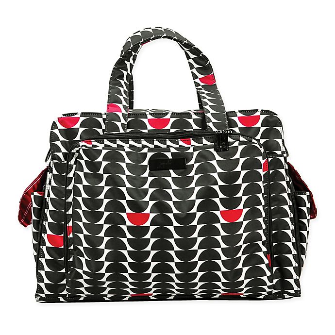 Alternate image 1 for Ju-Ju-Be® Onyx Be Prepared Diaper Bag in Black Widow