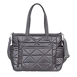 TWELVElittle Carry Love Tote Diaper Bag in Platinum