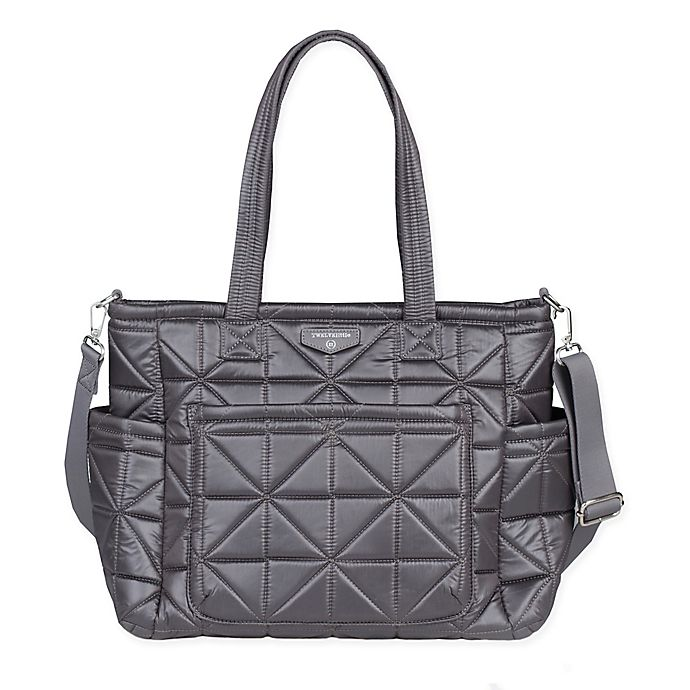Alternate image 1 for TWELVElittle Carry Love Tote Diaper Bag in Platinum