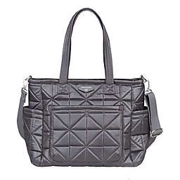 TWELVElittle Carry Love Tote Diaper Bag in Platinum