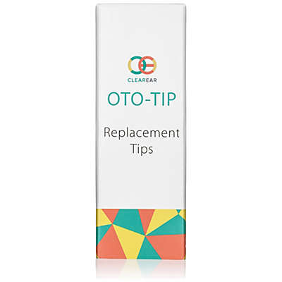 Clear Ear Oto-Tip 10-Pack Child and Adult Replacement Tips