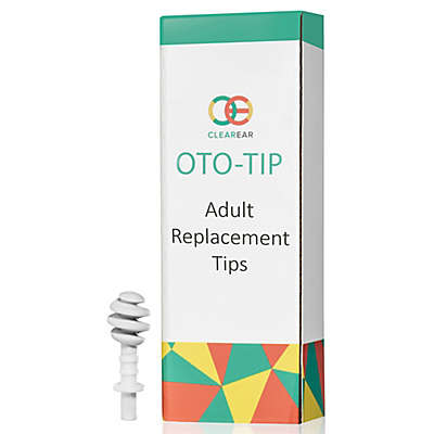 Clear Ear Oto-Tip 10-Pack Adult Replacement Tips