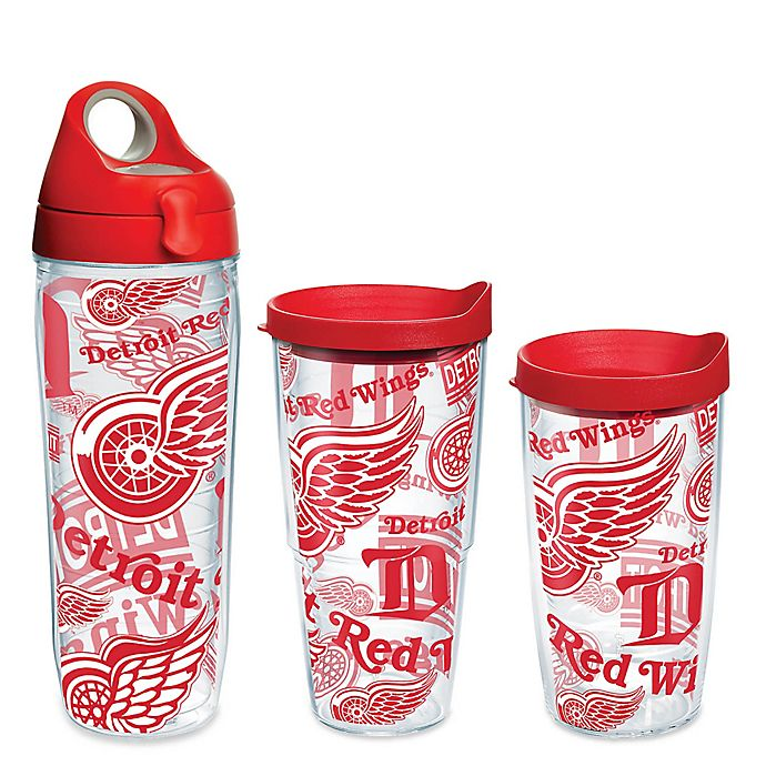 Alternate image 1 for Tervis® NHL Detroit Red Wings Allover Wrap Drinkware with Lid