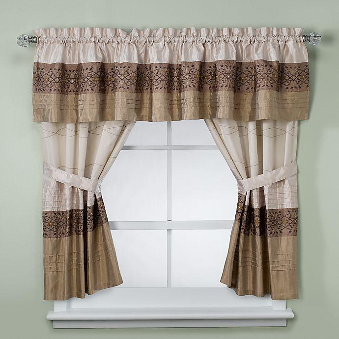 Kas Romana Bathroom Window Valance In, Bathroom Window Valances