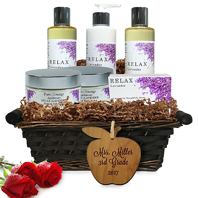 Alternate image 1 for Pure Energy Apothecary Ultimate Body Lavender Teacher Gift Basket