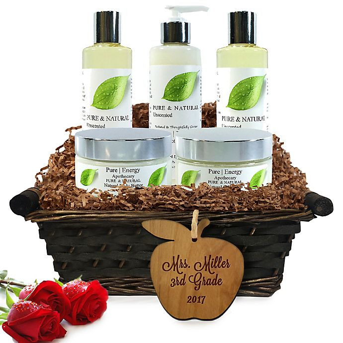 Alternate image 1 for Pure Energy Apothecary Ultimate Body Apothecary Pure & Natural Teacher Gift Basket