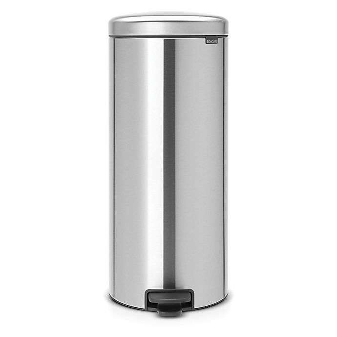 Alternate image 1 for Brabantia® Newicon 30-Liter Step-On Trash Can