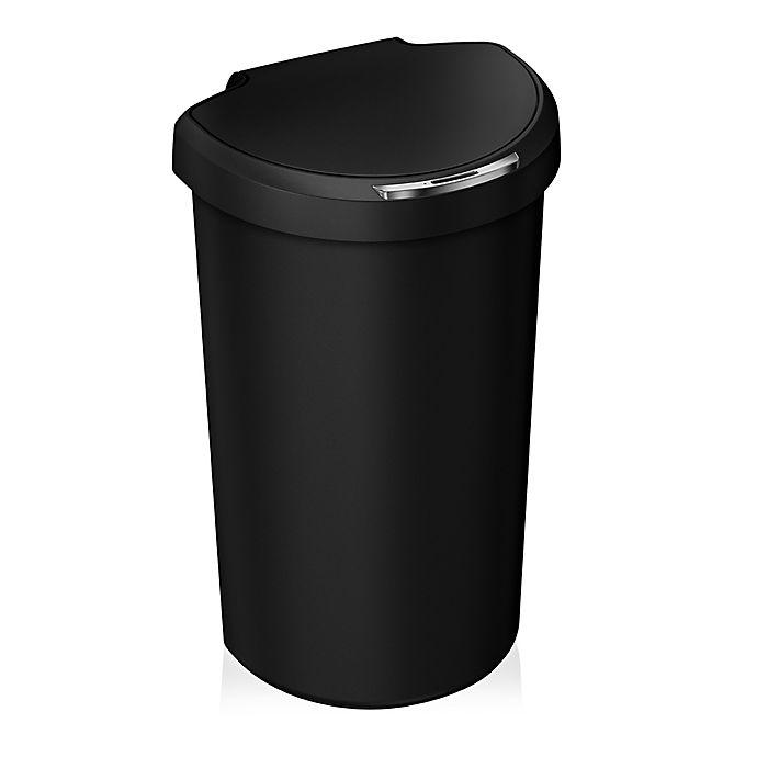 0c8c545d62b1ac simplehuman® Plastic 40-Liter Semi-Round Sensor Trash Can   Bed Bath ...