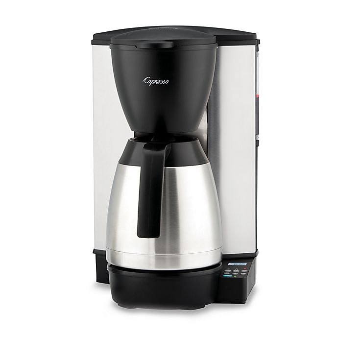 Alternate image 1 for Capresso® MT600 Plus 10-Cup Programmable Coffee Maker with Thermal Carafe