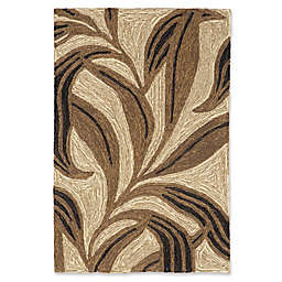 Liorra Manne for Trans Ocean Ravella Leaf Indoor/Outdoor 2' x 3' Accent Rug in Neutral