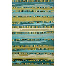 Trans-Ocean Seville Mosaic Stripe Rug
