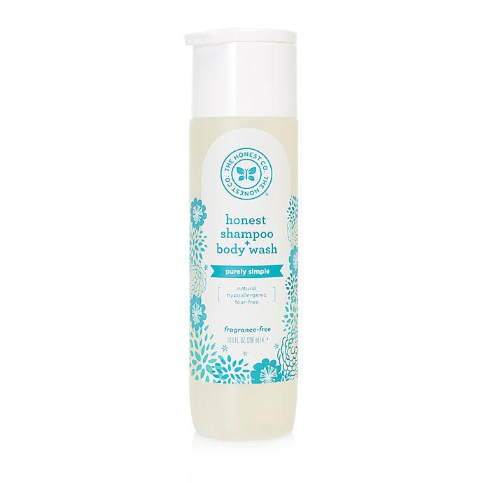 Alternate image 1 for Honest 10 oz. Fragrance-Free Shampoo and Body Wash