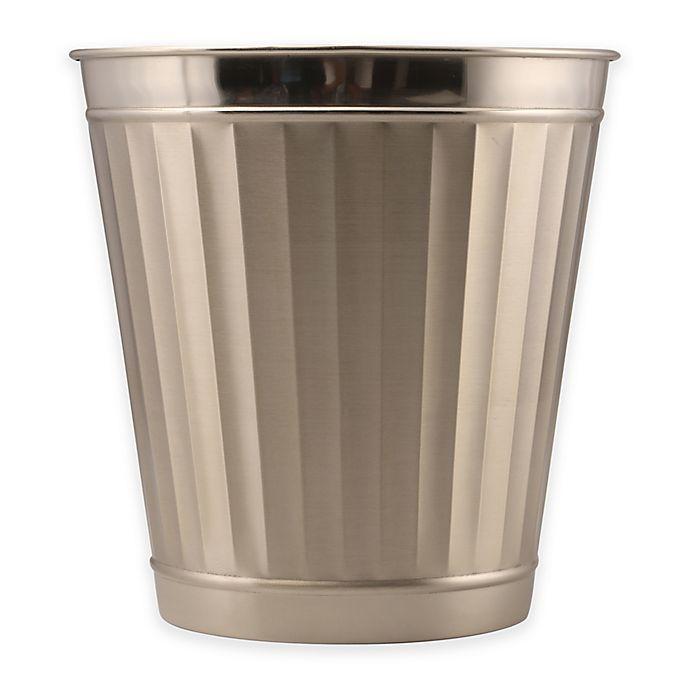 Alternate image 1 for Metal Wastebasket