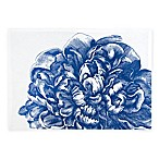Caskata Peony Placemats in Blue/White (Set of 4)