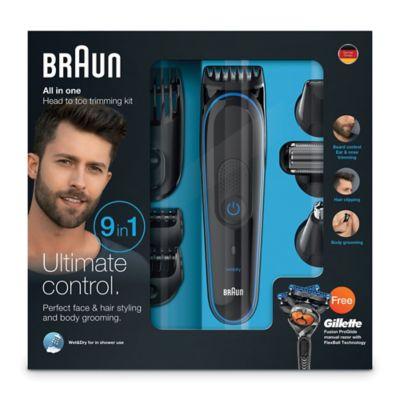 Braun Multi Grooming Kit In Black Bed Bath Amp Beyond