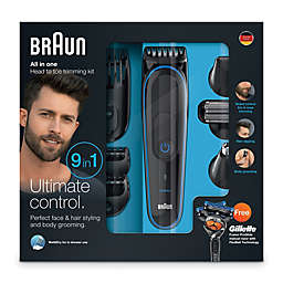Braun Multi Grooming Kit in Black