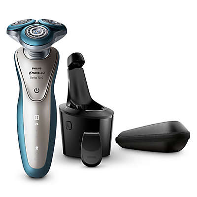 Philips Norelco Wet/Dry Shaver with Precision Trimmer in Blue