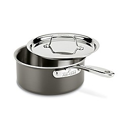 All-Clad LTD 3 qt. Covered Saucepan