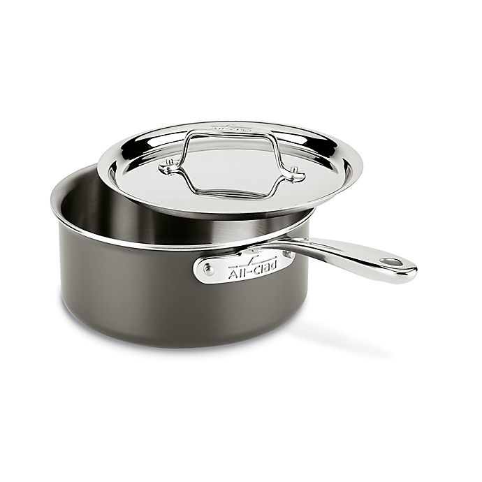 Alternate image 1 for All-Clad LTD 3 qt. Covered Saucepan