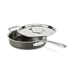 All-Clad LTD 3 qt. Covered Sauté Pan with Helper Handle