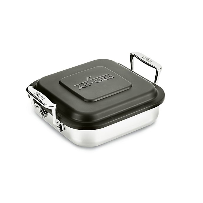 Alternate image 1 for All-Clad Stainless Steel Square Baker with Lid
