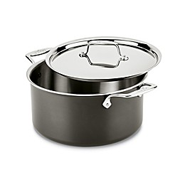 All-Clad LTD 8 qt. Covered Stock Pot