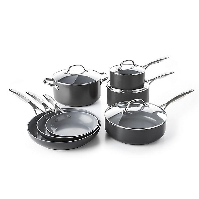 Greenpan Valencia Pro Ceramic Nonstick Cookware Collection Bed Bath Beyond