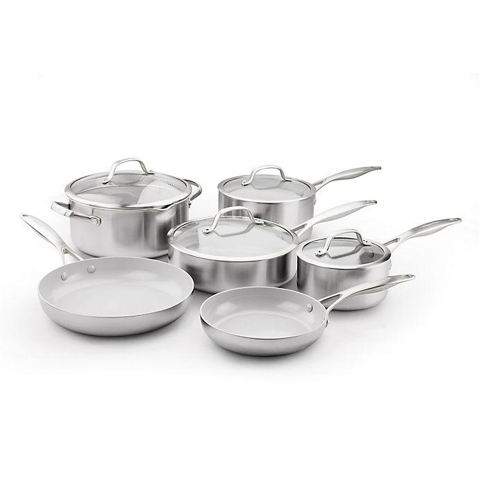 Alternate image 1 for GreenPan™ Venice Pro Ceramic Nonstick 10-Piece Cookware Set
